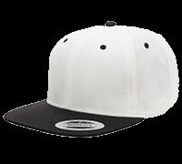 YUPOONG 6089 / WHITE-BLACK